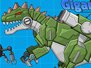Robot Dinosaur War Giganotosaurus