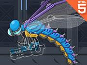 Robot Jurassic Dragonfly Html 5
