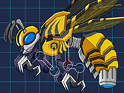Toy Jurassic Robot Bee