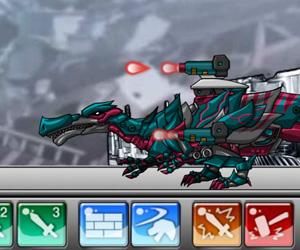 Robot Dino War Hadrosaurs