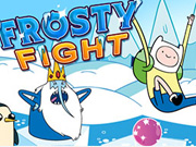 Frosty Fight Adventure Time