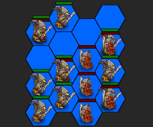 Hexagon Monster War 2