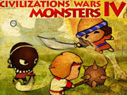 CIVILIZATION WAR 4 MONSTER